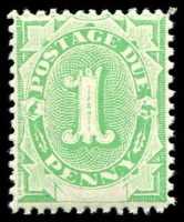 Lot 931:1902 Converted NSW Plates BW #D3 1d emerald.
