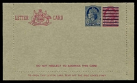 Lot 670:1959 5d on 4d Claret QEII BW #LC83.