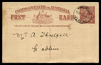 Lot 4113:1920-22 1½d Red-Brown KGV Sideface - Footnote Deleted BW #P52 used in 1923.