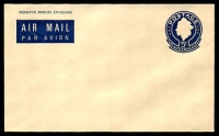 Lot 4218:1967 5c Indigo QEII BW #ME7 Defence Forces Envelope.