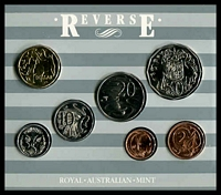 Lot 25 [1 of 2]:Australia: 1987 Uncirculated Royal Australian Mint set.