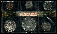 Lot 151:Canada: 1957 Proof like set of six. (6)