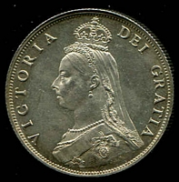 Lot 35 [2 of 2]:Great Britain: 1887 QV Jubilee Head 2/- unc.