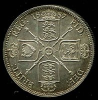 Lot 35 [1 of 2]:Great Britain: 1887 QV Jubilee Head 2/- unc.