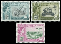 Lot 3548:1960 Phosphate Discovery SG #76-8 set. (3)