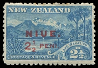 Lot 26048:1902 Overprints 2½d blue SG 2.