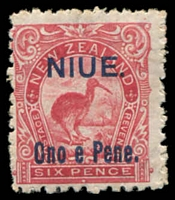 Lot 26052:1903 Pictorials SG #14 6d rose-red