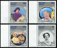 Lot 4123 [2 of 2]:1985 Queen Mother SG #364-8 set & M/Sheet. (5)
