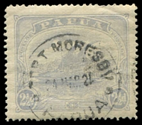 Lot 27097:1911-15 Monocolour SG #87a 2½d dull ultramarine.