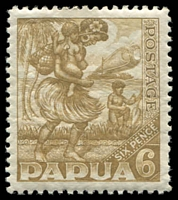 Lot 4512:1932 Pictorials SG #137 6d bistre-brown.