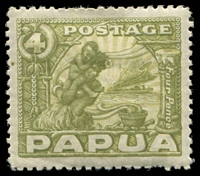 Lot 4303:1932 Pictorials SG #135 4d olive-green.