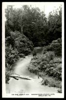 Lot 2219:Apollo Bay: black & white real photo PPC 'Barham River (Stanley Glen), Apollo Bay, Vic', unused.  Renamed from Krambruk PO 2/5/1898; LPO 28/7/1995.