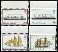 Lot 4091:1975 Mailboats SG #157-60 set. (4)