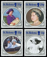 Lot 4372 [2 of 2]:1985 Queen Mother SG #454-8 set & M/Sheet. (5)