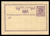 Lot 11763:1876 QV 1d Bell 'DROT' in Ribbon Stieg #P2 on cream stock.