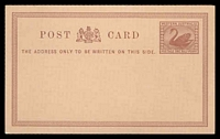 Lot 18251:1879 PSSA #PC1 ½d chestnut on salmon.