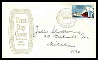 Lot 3995:APO 1969 Ports & Harbours Conference 5c tied to Aust Post Official FDC by Russell St cds 26FE69.