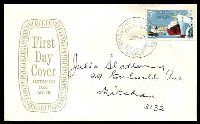 Lot 715:APO 1969 Ports & Harbours Conference 5c tied to Aust Post Official FDC by Russell St cds 26FE69.