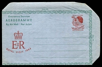 Lot 711:1963 10d Royal Visit BW #A20 unused.