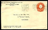 Lot 1014:1956-57 3½d Orange QEII Large Die BW #ES93 on envelope for British Patent Perforated Paper Co Pty Ltd used in 1958.