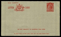 Lot 682:1954-57 3½d Red QEII Modified Admonition BW #LC79 Die II.