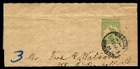 Lot 4297:1913-15 ½d Green Kangaroo BW #W1 used in 1915.