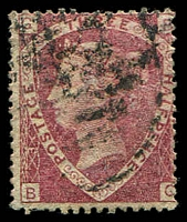 Lot 4122:1870 QV Wmk Large Crown SG #52 1½d lake-red, Cat £50.
