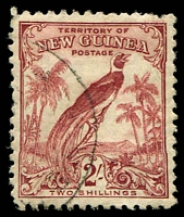 Lot 23457:1932-34 Bird of Paradise (No Dates) SG #186 2/- dull lake .