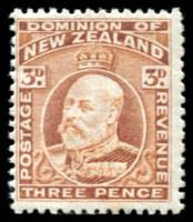 Lot 4414:1909-16 KEVII SG #389 3d chestnut
