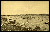 Lot 1436:Rose Bay: - black & white PPC 'Rose Bay, Sydney, NSW', unused.  PO 15/5/1906.