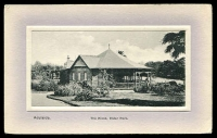 Lot 60:Australia - South Australia: black & white PPC 'Adelaide The Kiosk, Elder Park'.