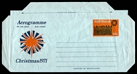 Lot 1027:1971 Christmas BW #A38 12c Christmas