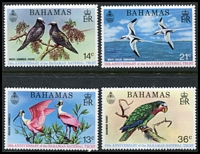 Lot 3713:1974 Birds SG #429-32 set. (4)