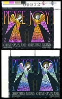 Lot 3945:1972 Christmas SG #53-6 set in se tenant pairs. (4)