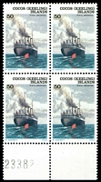 Lot 3954 [1 of 2]:1976 Ships Defins SG #20-31 set in blocks of 4.