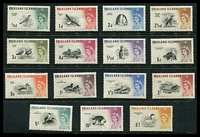 Lot 3908:1960-66 Birds SG #193-207 set. (15)