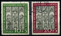 Lot 4094:1951 St Mary's Church Mi #139 set. (2)