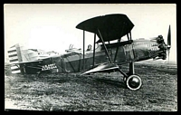 Lot 240:Aircraft: black & white PPC of a Curtiss XA4, real photo.