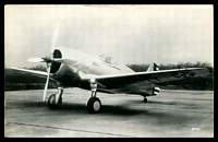 Lot 37:Aircraft: Black & white PPC 'Curtiss P36A', real photo.