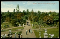 Lot 59:Australia - New South Wales: Multi coloured PPC 'General view in Botanic Gardens Sydney'.