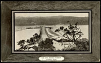Lot 63:Australia - New South Wales: Black & white PPC 'The Spit, Middle Harbour, Sydney NSW', real photo.
