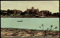 Lot 65:Australia - New South Wales: Multicoloured PPC 'Walker Hospital, Parramatta River', early card with undivided back.
