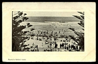 Lot 59:Australia: black & white PPC 'Austral's Golden Sands', early beach scene.