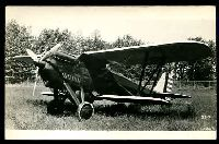 Lot 26:Aircraft: black & white PPC of a Berliner - Joyce P16, real photo.