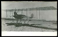 Lot 50:Aircraft: black & white PPC of a Aeromarine AS 39, real photo.
