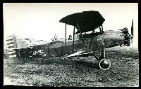 Lot 269:Aircraft: black & white PPC of a Curtiss XA4, real photo.