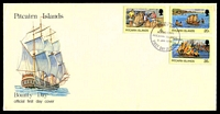 Lot 4183:1978 Bounty Day set tied to illustrated FDC by Adamstown cds 9 Jan 1978, unaddressed.