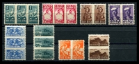 Lot 25376:1942-44 Bantam War Effort SG #97-104 set (2 top values **).
