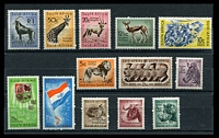 Lot 4165:1961 New Currency Defins SG #185-97 set. (13)