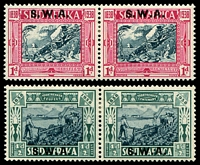 Lot 25488 [2 of 2]:1938 Voortrekker Centenary Memorial SG #105-8 set.